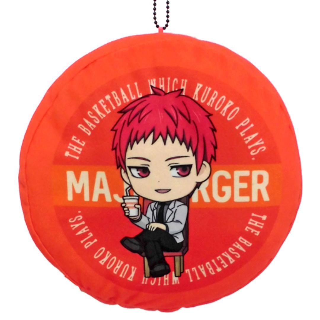 Kuroko's Basketball - Akashi Seijuro - MAJI Burger Customize Burger Plush Toy