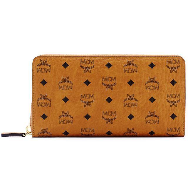 MCM zip wallet 🔥