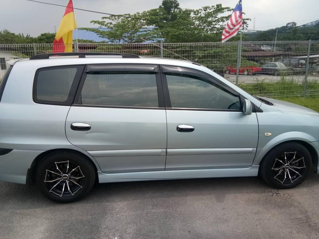 Naza citra 1.5 A  Year 2002  Price 9k   🎗Nice car / Very clean interior 🎗nice sport rim 🎗carefull owner