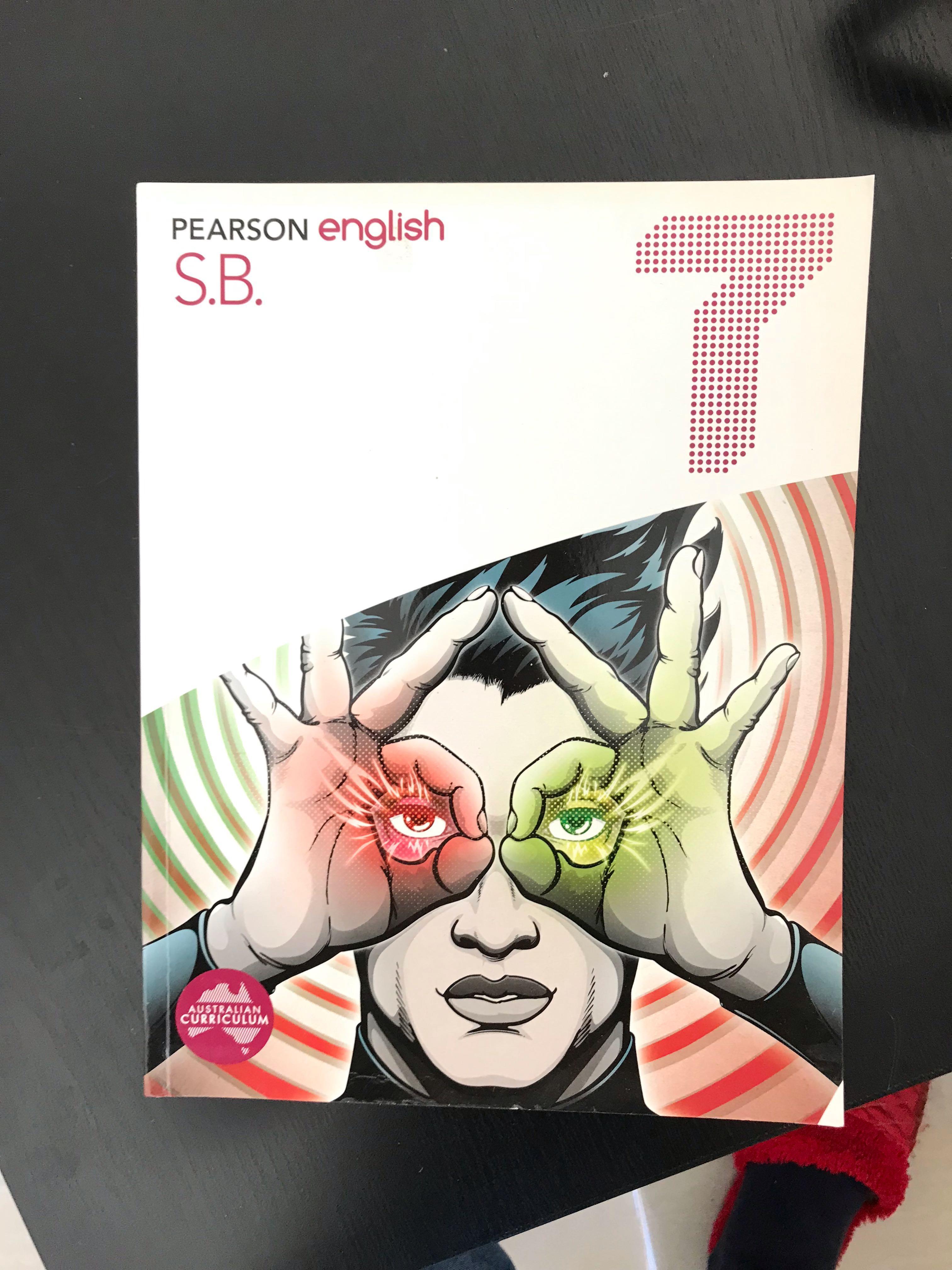 Pearson English 7 Textbook