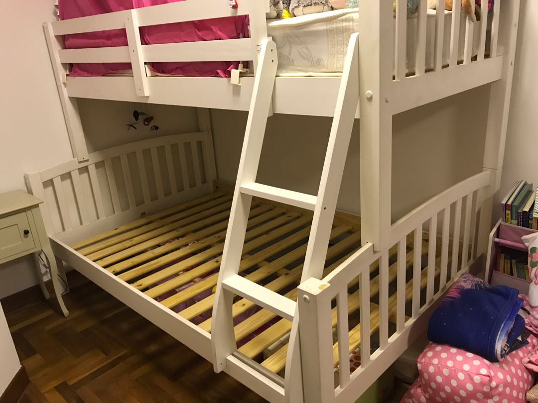 Picture of: Pick Up Only Happybeds Co Uk Kids Bunk Bed Furniture Beds Mattresses On Carousell