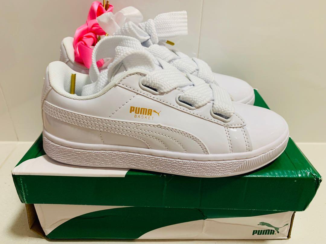 buy popular 54524 45701 Puma Basket - Size 36 - 22.5Cm