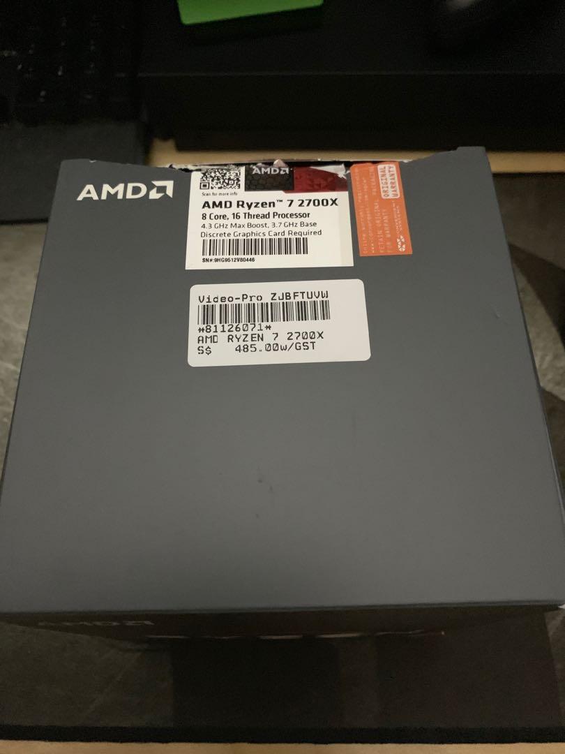 Ryzen 7 2700X + ASRock X470 Taichi Bundle, Electronics