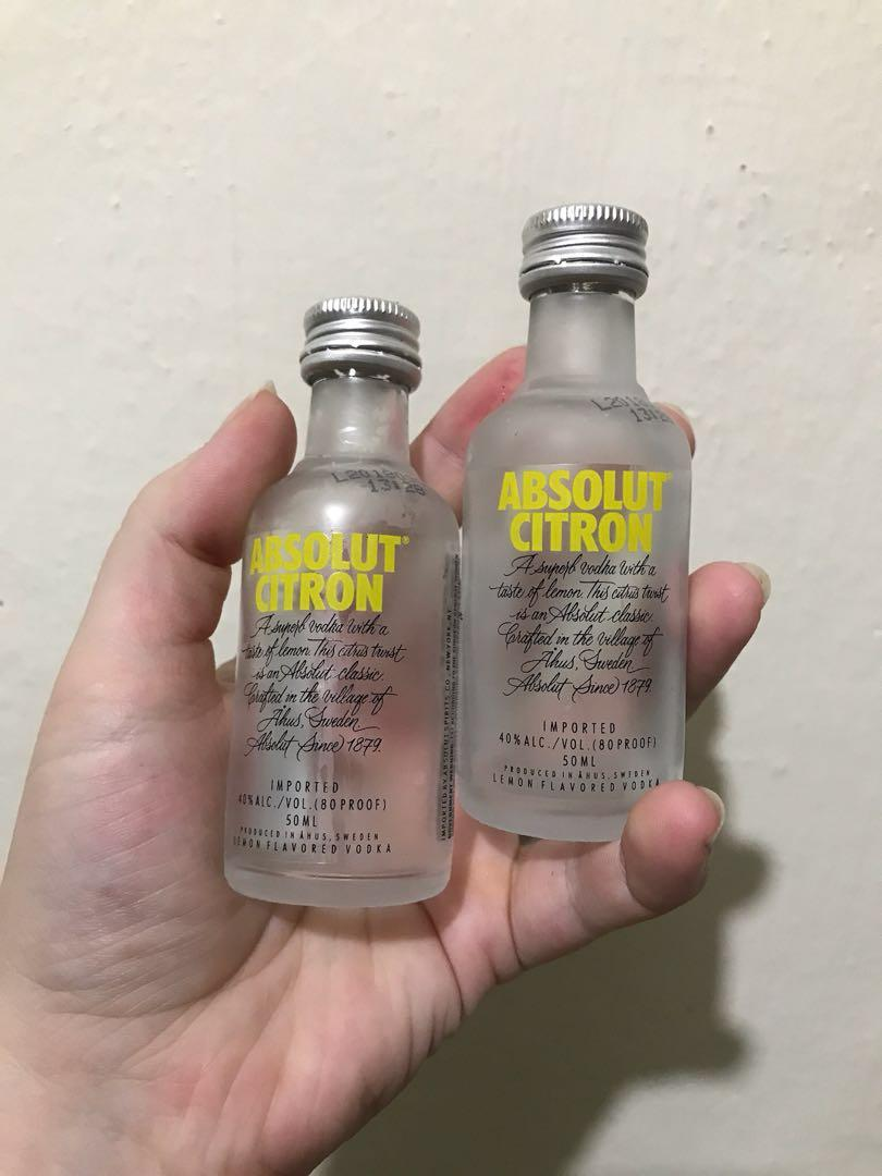 Small Empty Glass Bottles