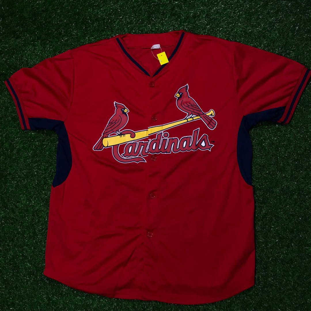 super popular 59752 eedbc St. Louis cardinals baseball jersey