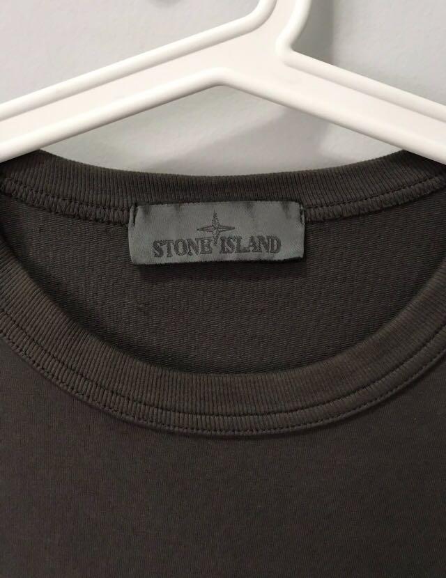 Stone Island Ghost Piece (Dark Grey)