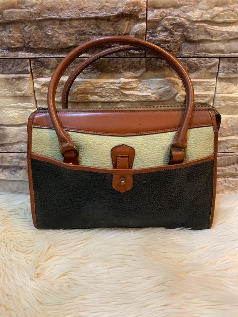 Tas Dooney and Bourke import USA original auth full leather size 30 cm mewah