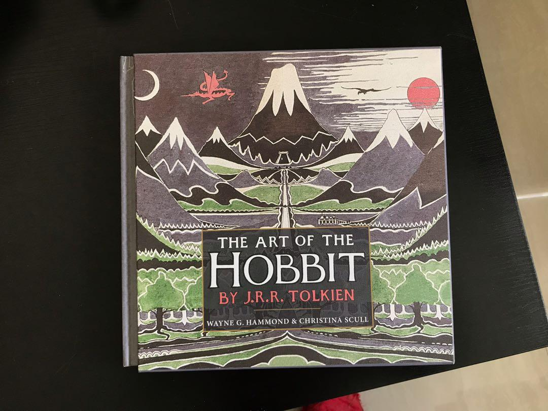 The Art of the Hobbit Illustrated Picture Book