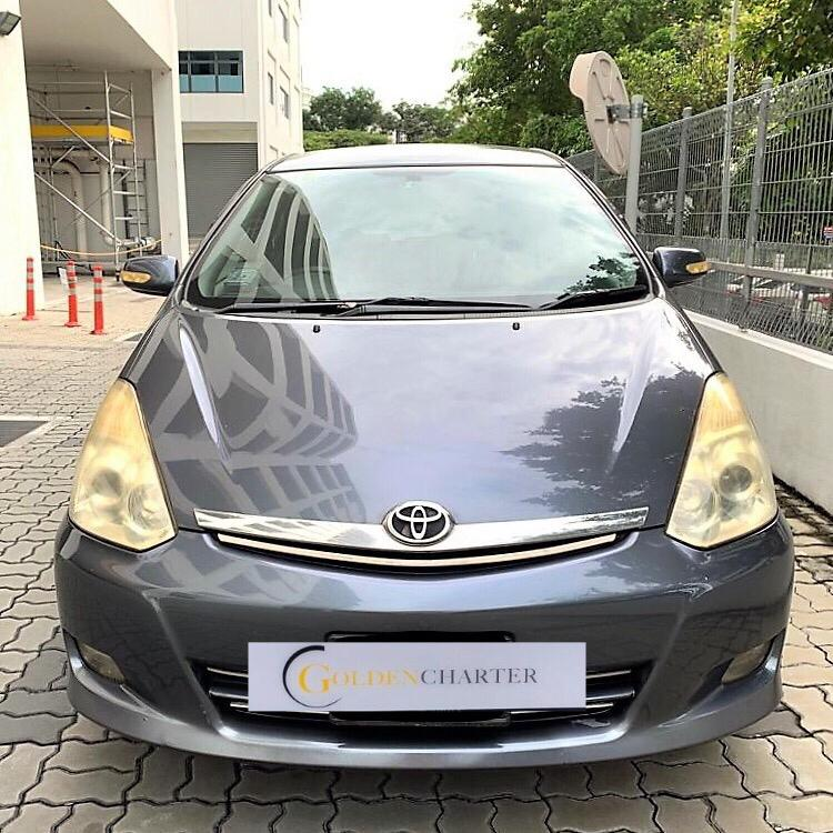 Toyota Wish $57 For PHV Go Jek Grab/Personal Use Cheap Car Rental