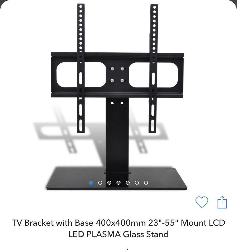 TV Bracket with Base.