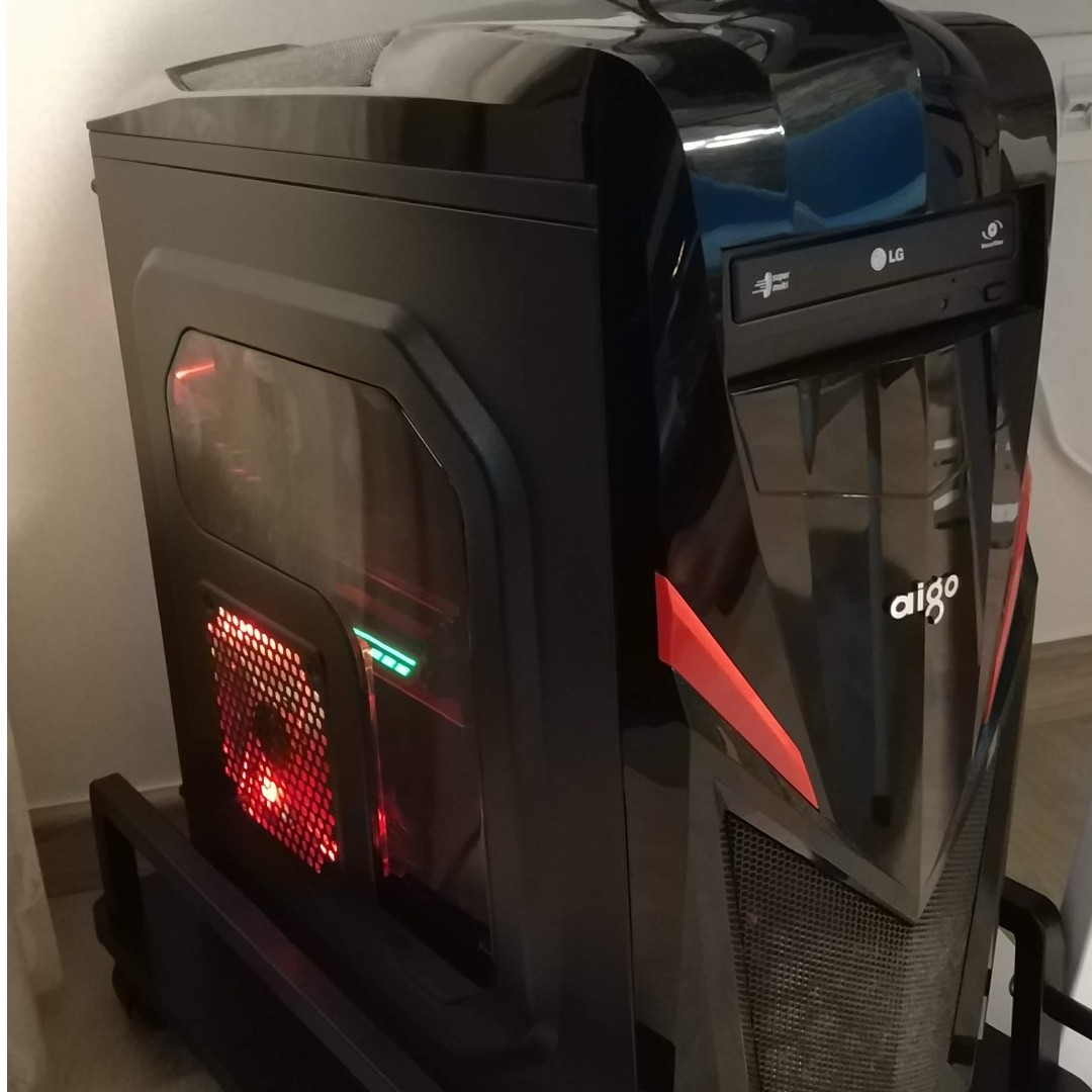 Used DIY Desktop Computer - i5-6600K (Overclocked to 4 3Ghz)