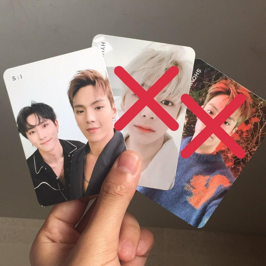 [WTS] Monsta X We Are Here Official Postcard - Shownu I.M.