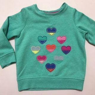 M&S Jacket with Hearts Design
