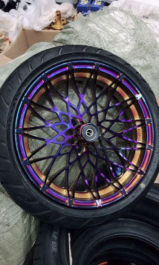 New arivall velg + tire (maxis 110/60) 12in