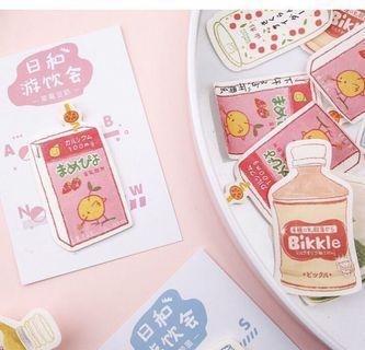 💮日本🇯🇵飲品系列 - 20款Memo紙 30張💮