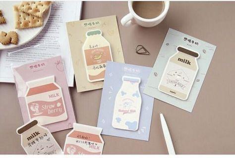 💮milk 牛奶系列🥛 - 4款Memo紙 30張💮