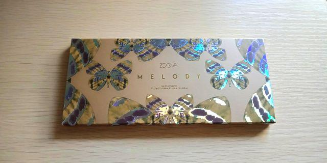 Authentic zoeva Melody eyeshadow palettes