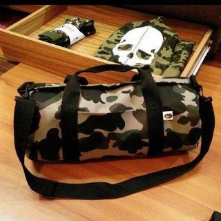 日本雜誌袋 bape camo big size 2way bag japan not aape