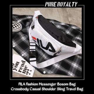 FILA Fashion Messenger Bosom Bag Crossbody Casual Shoulder Sling Travel Bag