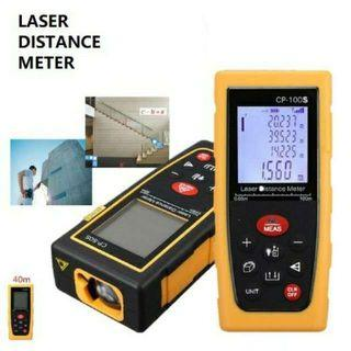Digital Laser Distance Meter Range Finder Measurer 40M