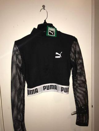Puma mesh/fish net long sleeve