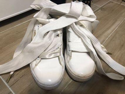 🚚 Puma綢緞板鞋