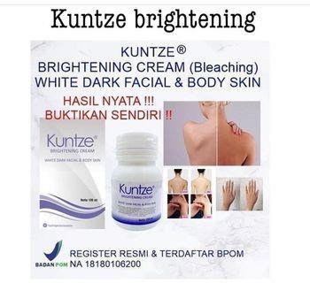 Kuntze brightening