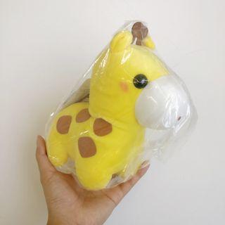 Small giraffe stuffed toy