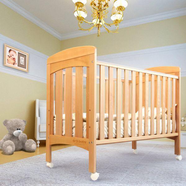 0/3 BABY VINA Baby Cot and Mattress 嬰兒床連床褥