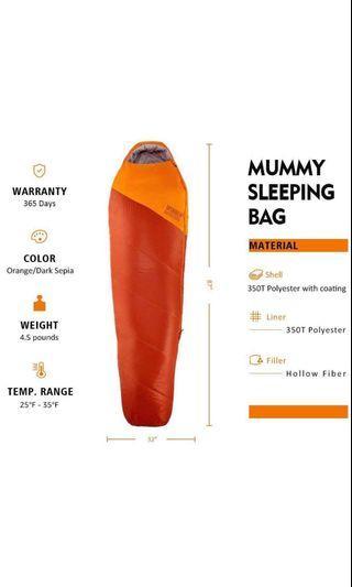 🚚 WINNER OUTFITTERS Mummy Sleeping Bag
