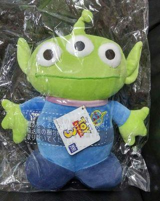 Disney 迪士尼 Toy Story 3 反斗奇兵3 Alien 三眼仔 大景品公仔 30cm高 全新正版有吊牌