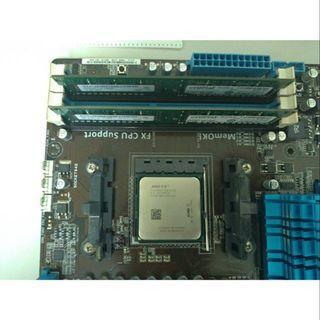 AMD FX-4200 FD4200FRW4KGU  CPU 中央處理器 加 風扇