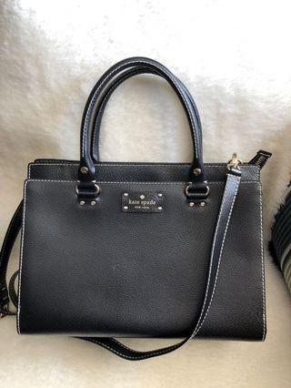 LIKE NEW! Authentic KATE SPADE Wellesley Leather Durham Purse Satchel