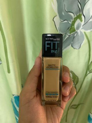 Maybelline Fit Me Foundation (128)