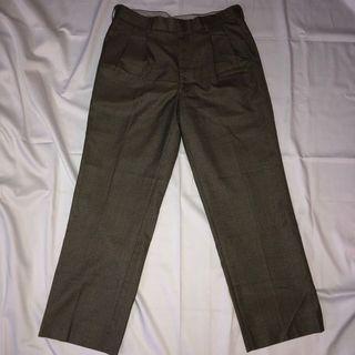 Tartan Pants Stripped Grey