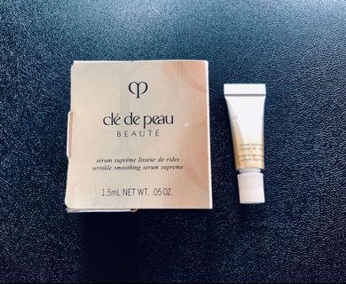[包郵]Cle de peau 高效抗皺精華 wrinkle smoothing Serum superme
