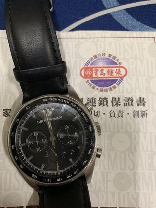 E ARMANI 手錶