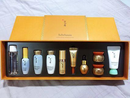 Sulwhasoo Luxury Ginseng Care Kit (10 items)