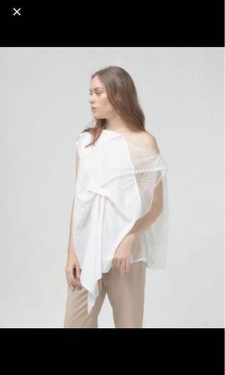 Sabrina top putih