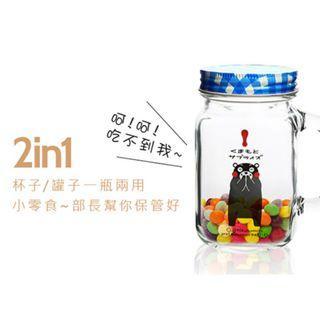KUMAMON 熊本熊梅森杯玻璃杯450ML
