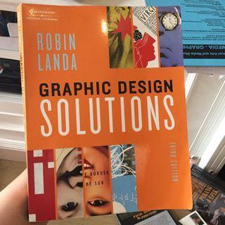 Graphic Design Solutions Karangan Robin Landa Third Edition Textbook desain grafis Buku Import Original Paperback