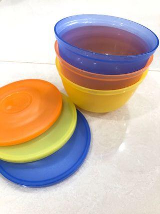 🚚 Tupperware Bowl Set