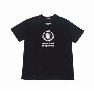 🚚 Balenciaga World Food Programme Tee