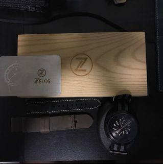 🚚 Zelos Chroma Skeleton Watch