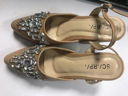 Tan Pearl Scarpa_shoes_