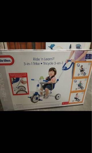 🚚 BNIB little tikes 3-in-1 trike tricycle
