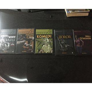 Cinematic History Set seri Komplit karangan Mark Wilshin Buku Seri Sejarah Sinema