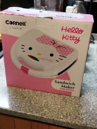 Cornell hello kitty sandwich maker BNIB