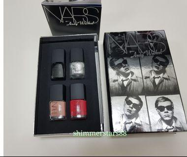 New NARS Limited Edition Andy Warhol Nail Polish Photo Booth Collection Gift Set