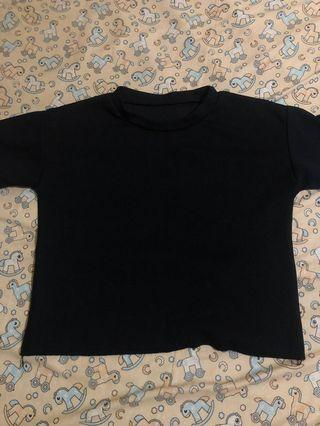Turtle neck knit black